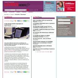 5 500 ebooks gratuits regroupés sur noslivres.net