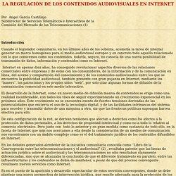 Regulación de contenidos en Internet