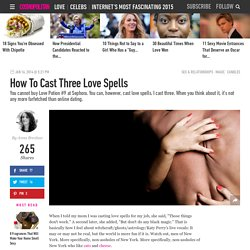 Regular Person Casts Love Spells - Three Love Spells That Might Work
