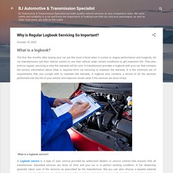 Why is Regular Logbook Servicing So Important?