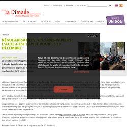 18 nov. 2020 Régularisation des sans-papiers: l'Acte 4 est lancé pour le 18 décembre