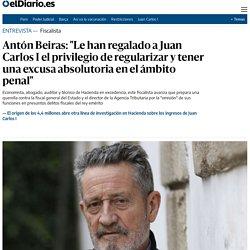 """Antón Beiras: """"Le han regalado a Juan Carlos I el privilegio de regularizar y tener una excusa absolutoria en el ámbito penal"""""""