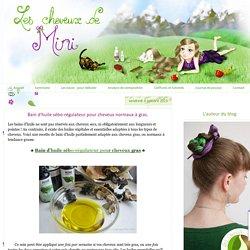 Bain d'huile sébo-régulateur pour cheveux normaux à gras.