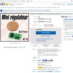 5024 Carte Régulateur DE Tension Idéal Modélisme 3 3 3 5 6 8 9 OU 12V