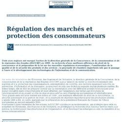 SEPTEMBRE 2000 Régulation des marchés et protection des consommateurs