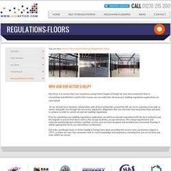 Regulations floors