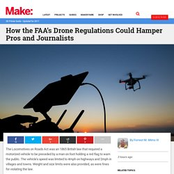 How the FAA's Drone Regulations Could Hamper Pros and Journalists