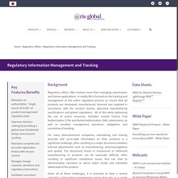 Regulatory Information Management System Software By ArisGlobal