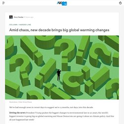 New decade starts with climate change bills, regulatory rollbacks and investor pressure -Axios