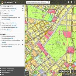Planinnsyn - Reguleringsplaner og kart over Oslo - reguleringskart