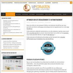 Optimiser son site régulièrement et automatiquement