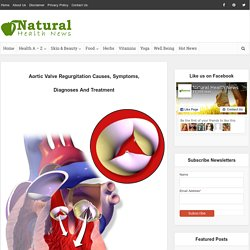 Aortic Valve Regurgitation Causes, Symptoms, Diagnoses And Treatment