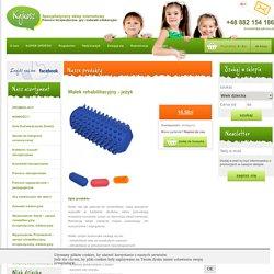 Wałek rehabilitacyjny - jeżyk - Pomoce terapeutyczne, gry i zabawki edukacyjne - Kajkosz.pl - Specjalistyczny sklep internetowy