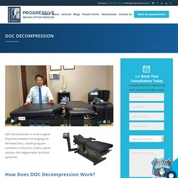 Non-Surgical Spinal Decompression Therapy in Cedar Rapids