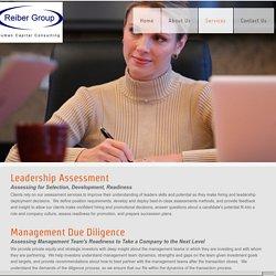 Reiber Group inc. - Online : Services