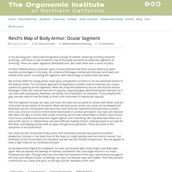 Reich's Map of Body Armor: Ocular Segment -