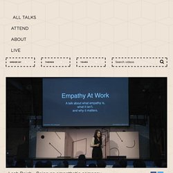 Leah Reich - Being an empathetic company