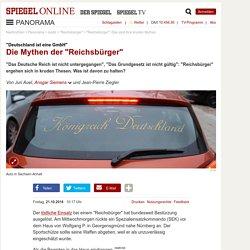 """""""Reichsbürger"""": Das sind ihre kruden Mythen"""