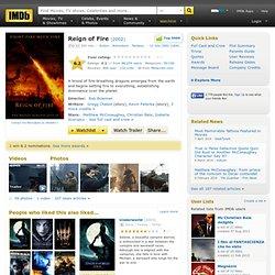 Le règne du feu (2002