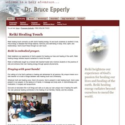 Reiki Healing Touch | Dr. Bruce Epperly