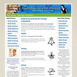 Reiki Karuna symbols - Reiki Karuna masters