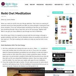 Reiki Owl Meditation