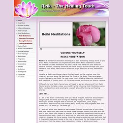 Reiki - The Healing Touch