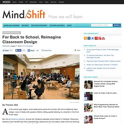 For Back to School, Reimagine Classroom Design