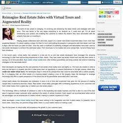 Get Ready For Virtual Reality In Real Estate