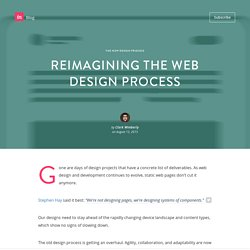 Reimagining the web design process
