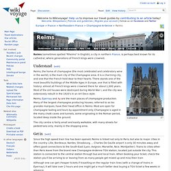 Reims – Travel guide at Wikivoyage