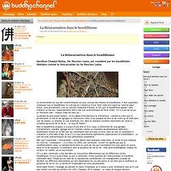 La Réincarnation dans le bouddhisme