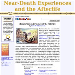 Reincarnation and near-death experiences