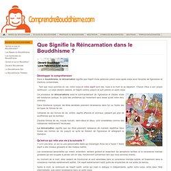Réincarnation & Bouddhisme - Signification de la Réincarnation dans le Bouddhisme