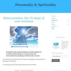 Reincarnation: the 35 steps of soul evolution