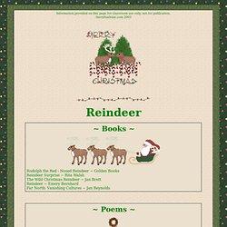 Reindeer at The Virtual Vine