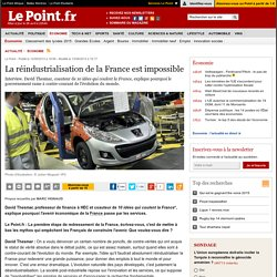 La réindustrialisation de la France est impossible