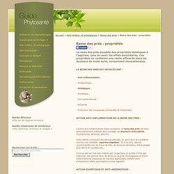 Reine des prés : propriétés / Guide Phytosante
