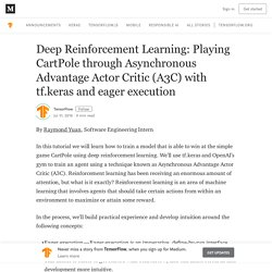 Deep Reinforcement Learning: Playing CartPole through Asynchronous Advantage Actor Critic (A3C)…