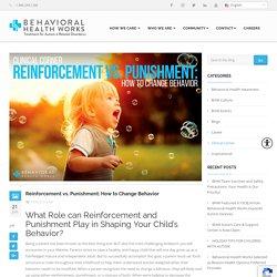 Reinforcement vs. Punishment: Changing Behavior