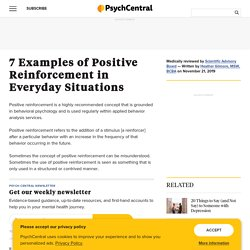 7 Examples of Positive Reinforcement in Everyday Situations