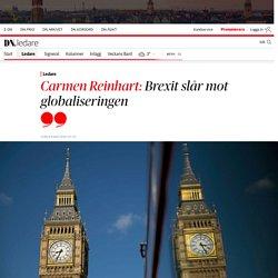 Carmen Reinhart: Brexit slår mot globaliseringen
