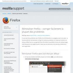 Réinitialiser Firefox – corriger facilement la plupart des problèmes