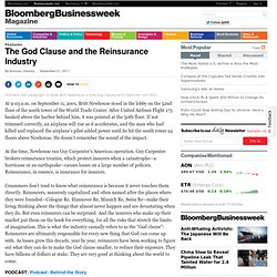 The God Clause and the Reinsurance Industry