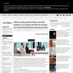 AMO è lo studio gemello di OMA, ovvero Rem Koolhaas. Ecco il graphic shortfilm che ha ideato per Prada reinterpretando la collezione p/e 2016
