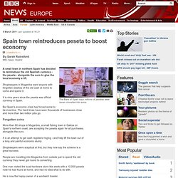 Spain town reintroduces peseta to boost economy