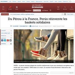 Du Pérou à la France, Perús réinvente les baskets solidaires