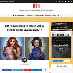 Elle réinvente les princesses Disney comme si elles vivaient en 2017
