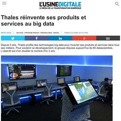 Thales réinvente ses produits et services au big data