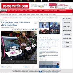 À Paris, un Corse réinvente la visite touristique
